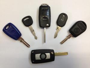 Fahrzeugshlüssel mit oder ohne Transponder