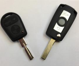 Klappschlüssel für BMW und mit Fernbedienung